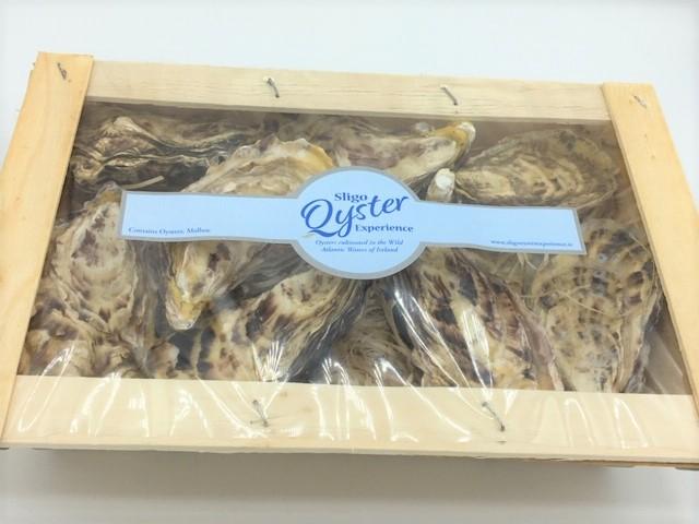 Sligo Oysters fresh from the sea