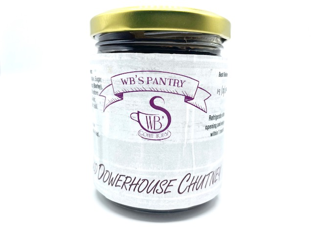 WB's Pantry Old Dowerhouse Chutney