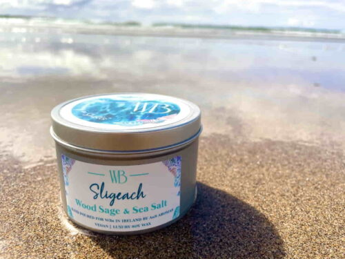 Sligeach 'Abounding in Shells' Candle